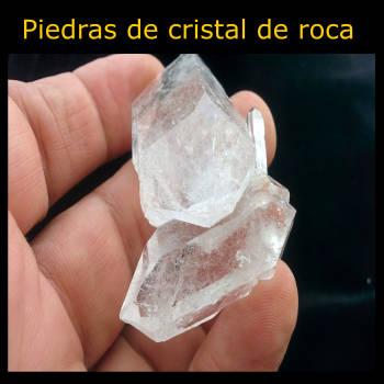 pierres de cristal de roche
